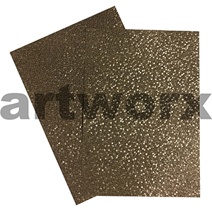Bronze Sheen Pebble Paper A4 Embossed