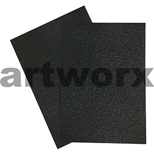 Black Matte Pebble Paper A4 Embossed