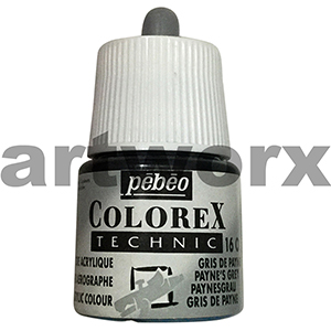 Payne's Grey Colorex Technic Ink Pebeo