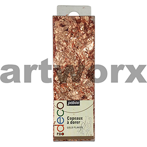 Copper Pebeo Decor Flakes