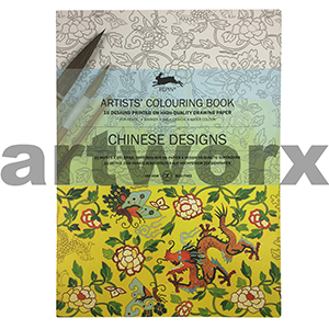 Chinese Designs Pepin Artist Colouring Book