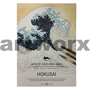 Hokusai Pepin Artist Colouring Book