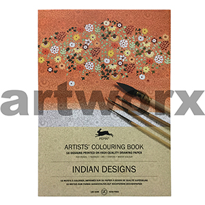 Indian Designs Pepin Artist Colouring Book