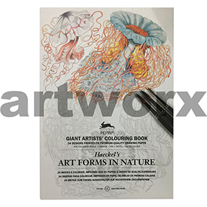 Art Forms in Nature Pepin Giant Artist Colouring Book