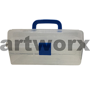 32x20x15cm Clear Plastic Multi Function Utility Tool Box