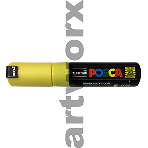 Yellow Posca Waterbased Markers 8k
