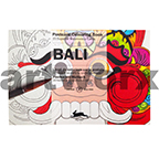 Bali Pepin Postcard Artists Coloring Book