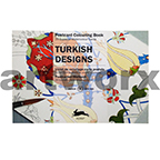 Turkish Designs Pepin Postcard Artists Coloring Book