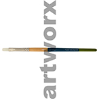 No.6 Flat Long Handle Taklon Brush Princeton
