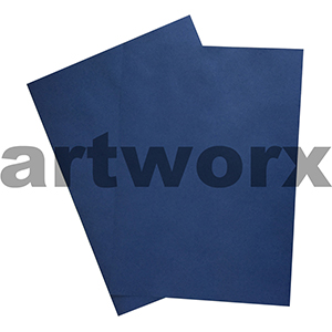Navy Blue 255x30mm 125gsm 500 Sheet Ream Prism Cover Paper