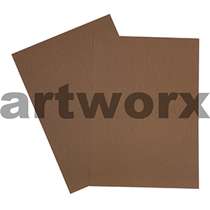 Brown 200gsm 510x640mm Cardstock 20 Sheets