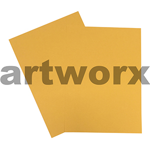 Gold 200gsm 10x640mm Cardstock 20 Sheets