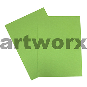 A4 Light Green 200gsm Ream 100 sheets Prism Board