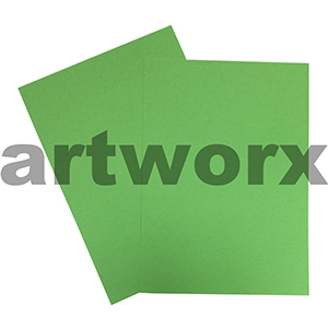 A4 Medium Green 200gsm Ream 100 sheets Prism Board