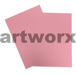 A4 Pink 200gsm Ream 100 sheets Prism Board