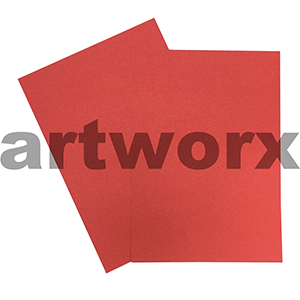 A4 Red 200gsm Ream 100 sheets Prism Board