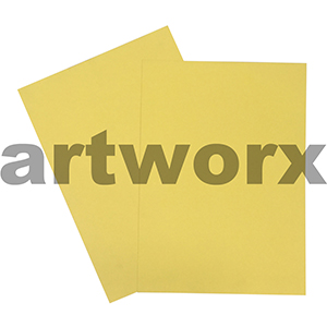 Yellow 200gsm 510x640mm Cardstock 20 Sheets