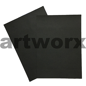 Black 255x30mm 125gsm 500 Sheet Ream Prism Cover Paper