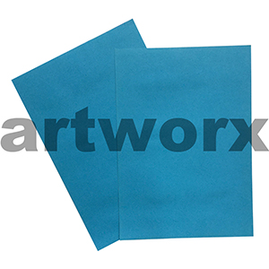Bright Blue 255x30mm 125gsm 500 Sheet Ream Prism Cover Paper