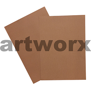 Brown 255x30mm 125gsm 500 Sheet Ream Prism Cover Paper
