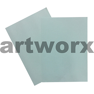 Light Blue 255x30mm 125gsm 500 Sheet Ream Prism Cover Paper