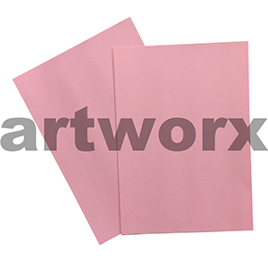 Pink 255x30mm 125gsm 500 Sheet Ream Prism Cover Paper