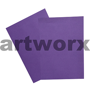 Purple 255x30mm 125gsm 500 Sheet Ream Prism Cover Paper