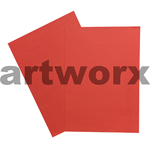 A4 Red 125gsm Prism Paper Color 20 Pack