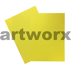 A4 Yellow 125gsm Prism Paper Color 20 Pack