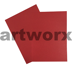 Red A3 210gsm Quill Cardstock