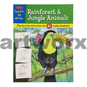 Learn to Draw Rainforest and Jungle Animals Walter Foster Books