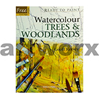 Ready to Paint Watercolour Trees & Woodlands Book by Geoff Kersey