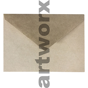 Recycled Brown 130x180mm Envelope 80gsm 20 Pack