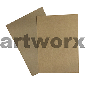 A4 225gsm Recycled Brown Kelly Two Tone Cardstock
