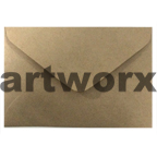 Recycled Brown C6 80gsm Envelope