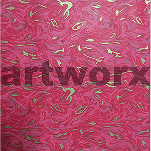 Red Marble Japanese Rice Paper 50x75cm
