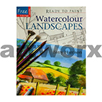 Ready to Paint Watercolour Landscapes Book by Terry Harrison