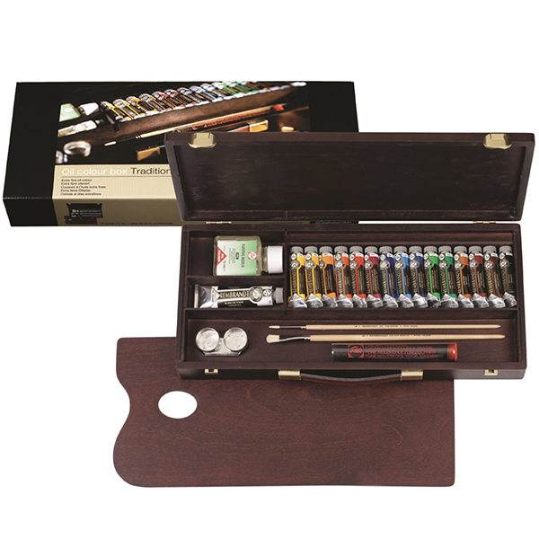 Rembrandt Traditional Oil Wooden Set