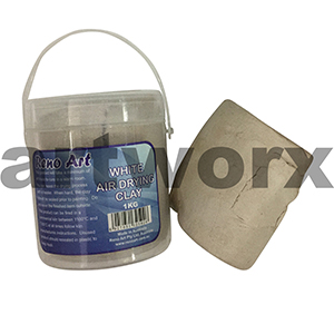 1kg White Air Drying Clay Reno