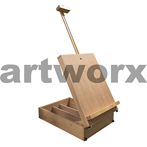 Reno Artworks Table Box Easel Beech Wood