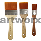BS-800-3 3pce Synthetic Large 3,2,1 Inch Paint Brush Set