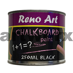 Reno Black 250ml Chalk Board Paint