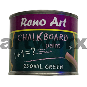Reno Green 250ml Chalk Board Paint