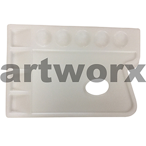 9 Well Reno Rectangle Plastic Palette