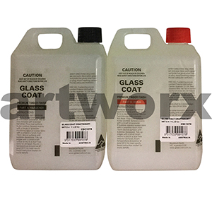 2 x 1litre Resin Glass Coat