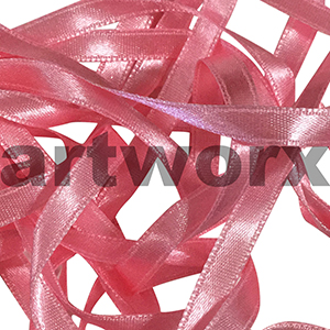 8mm Pink double faced satin ribbon