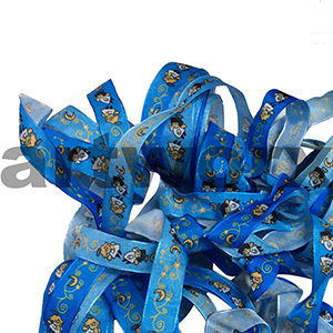 Ribbon per metre Printed Angels