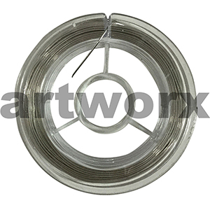 10m Silver Craft Wire