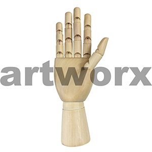 "10"" Mannequin Right Hand"