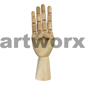 "7"" Mannequin Right Hand"